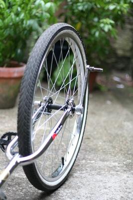 Broken pedal